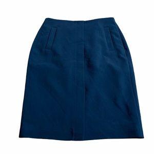 BANANA REPUBLIC Black Pencil Office Skirt Size 00P